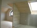 Střechy šikmé ploché půdní vestavby montáž sádrokartonu Pardubice