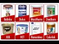 Prodej lazury, lazurovací laky, fasádní, malířské, interiérové barvy