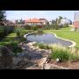 Zahradn�, koupac� jez�rka-p��rodn� koup�n� na zahrad�