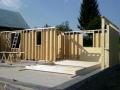 Varianta rychlého bydlení je výstavba nízkoenergetických domů na klíč