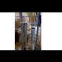 Zemní vruty - na ukotvení trubek, pro ploty, terasy, značky, chatky, pergoly