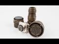 Kruhové konektory pro vojenské a náročné aplikace ITT Canon-dodávka
