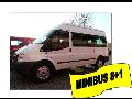 Autopůjčovna-pronájem komfortní minibus, mikrobus Ford Transit pro 9 osob