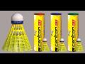 Badmintonové rakety, košíčky, výplety, ostatní potřeby a doplňky Carlton pro badminton