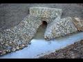 Podélné, příčné opevnění břehů, rozšíření, čištění koryt potoků, řek