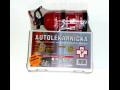 Požární hlásič, autolékarnička+hasicí přístroj, hasicí sprej