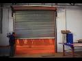 Požární ocelová vrata - rolovací