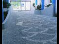 Dlažba LIBET, realizace parkovišť