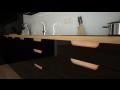 Frézované zapuštěné úchytky pro kuchyňská dvířka a kuchyně