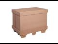 Velkoobjemové přepravní papírové boxy a krabice - odolné obaly s vysokou pevností