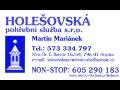 Služby pohřebnictví poskytuje nonstop Holešovská pohřební služba