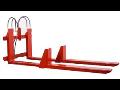 Přídavná zařízení pro vysokozdvižné vozíky, vidle, prodloužení, Bolzoni Auramo, VZV