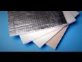 Laminieren der Vliesmatten, Beschichtung von Oberfl�chen der Glasfasermatten mit der Aluminiumfolie, Tschechien