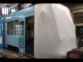 Balení dopravních prostředků a jejich částí – tramvaje, trolejbusy, ...