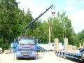 Přeprava sypkých materiálů, nadrozměrných, strojů, odpadů, kontejnerů
