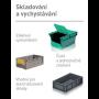 Přepravní obaly pro E-commerce, internetové podnikání - jednoduchá přeprava, distribuce i skladování