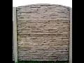 Herstellung von Betonzäunen, Betonprodukte – Verkauf, Montage Tschechien