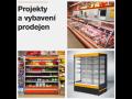 Vybavení a modernizace prodejen na klíč - chladicí skříně a vitríny, regály a další vybavení