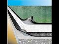 Hydroizolační materiál, hydroizolace staveb, asfaltové pásy.