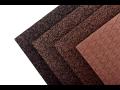 Gumové desky na podlahy - hnědý melír až do 100 %, pro posilovny, fitness i na ven
