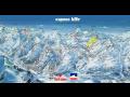 Lyžování v Alpách Francie Val d´Isére