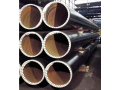 Flanged pipes with a double-hem on both ends from high quality steel, ...