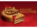Královský medovník, výroba, prodej, rozvoz - klasický, meruňkový, třešňový, švestkový