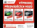 Výprodej předváděcích vozů Seat-nový vůz se slevou