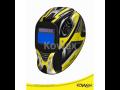 Samostmívací svářecí kukla Kowax - důležitá ochranná pomůcka pro svářeče