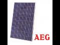 Kvalitní solární panely AEG skladem v Olomouci s funkcí sledování výkonu každého panelu