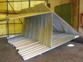 Ocelov� konstrukce pro sol�rn� panely, fotovoltaick� elektr�rny