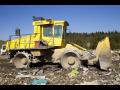 Sběrné dvory pro ukládání druhů odpadů, systém komplexního nakládání s odpady v Třebíči na Vysočině