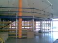 Vícepodlažní regálové konstrukce Veltrusy