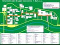 mapa nemocnice - KNTB Zlín