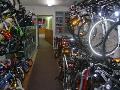Jízdní kola a cyklistické potřeby levně - prodej