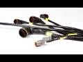 Kabeláž, kabelové svazky, konektory pro motorsport-výroba na míru