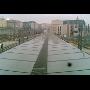 Montáž - prosklené vlakové terminály
