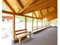 Dřevěné domky, přístřešky, zahradní pergoly vyrobené na míru - tesařství