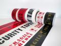 Potištěné balící pásky - grafické návrhy, výroba