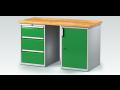 Kovový nábytek TechnoBank - eshop – vybavení dílen, kovové šatní skříně