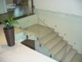 Výroba skleněného zábradlí - bezpečnostní, kalené, lepené, barevné
