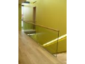 Výroba kalené-lepené skleněné zábradlí Brno