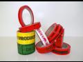 Balící potištěné pásky jako zabezpečovací prvek i jako forma levné reklamy a propagace firmy
