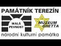 Gedenkstätte Theresienstadt in der Nähe von Leitmeritz, Denkmal für die jüdischen Opfer der NS-Zeit die Tschechische Republik