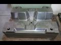 Výroba forem - vstřikovací formy pro plasty, vypěňované materiály