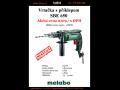 Aku vrtačka s příklepem Metabo - lehká, malá, výkonná, kompaktní za akční cenu