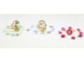 Použité zlaté prsteny z bazaru za nízké ceny - dámské i pánské prsteny