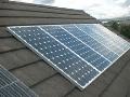 Fotovoltaické sluneční elektrárny panely stringové měniče Hradec