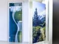 Designtüren, Ganzglastüren, Glastüren mit Digitaldruck, die Tschechische Republik