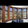 Výroba a montáž dřevohliníkových oken - velice kvalitní kování a materiál